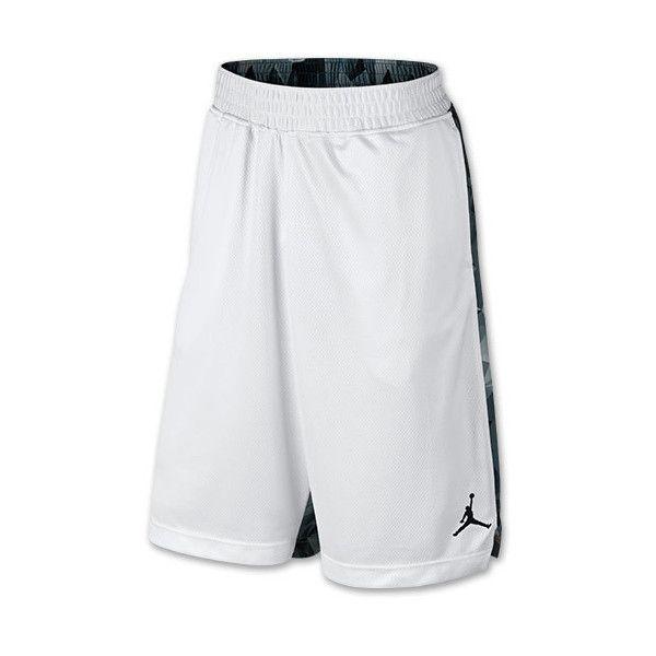 f4ce3cbf2de66d Men s Air Jordan Retro 7 Printed Basketball Shorts ( 60) ❤ liked on  Polyvore featuring men s fashion