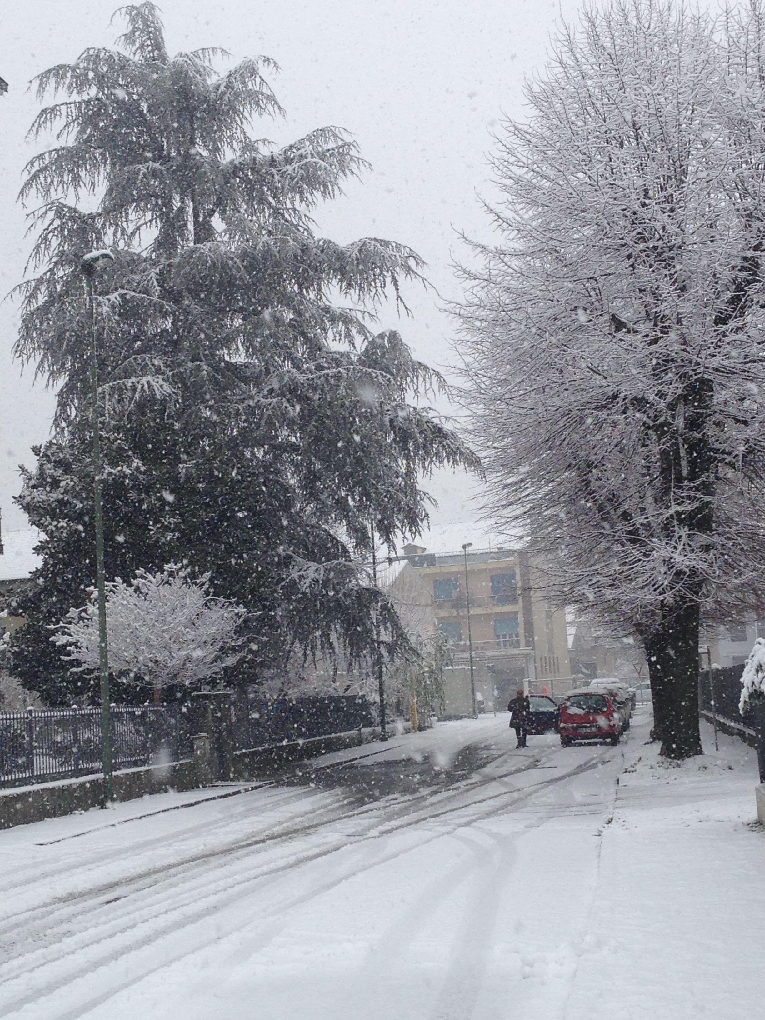 L'inverno e'arrivato.,.