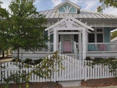 My Little Dream Cottage Luxury Family Home Carillon Beach Dream Cottage Cottage Exterior Carillon Beach