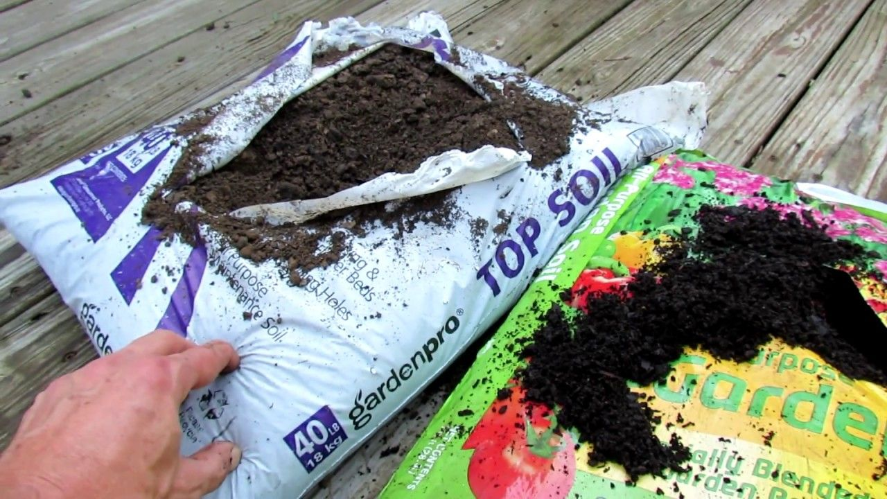 What Does Topsoil Garden Soil Raised Bed Soil And Potting Mix