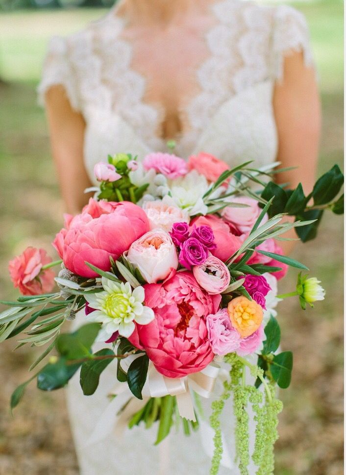 My Bouquet Coral Peonies Dahlias Ranunculus Garden Roses Replace White And Light Flower Colorful Bridal Bouquet Rose Wedding Bouquet Pink Wedding Flowers