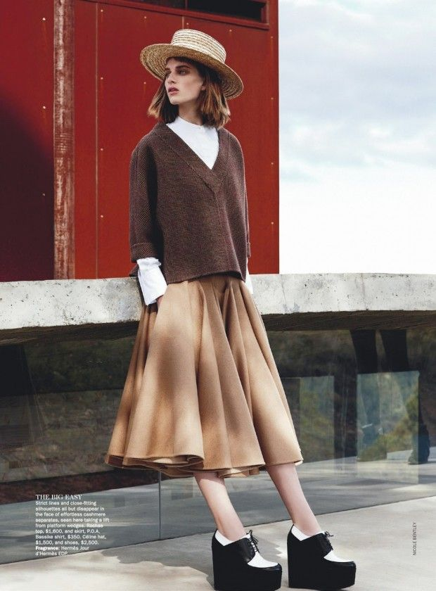 awesome Vogue Austrália | Editorial de Moda Julho 2013 | Ashleigh Good por Nicole Bentley
