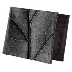 Detail leaf in artistic black and white Mens Walle