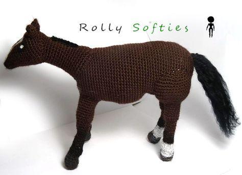 Rolly Softies Cavallo Amigurumi Schema Gratis Pinterest