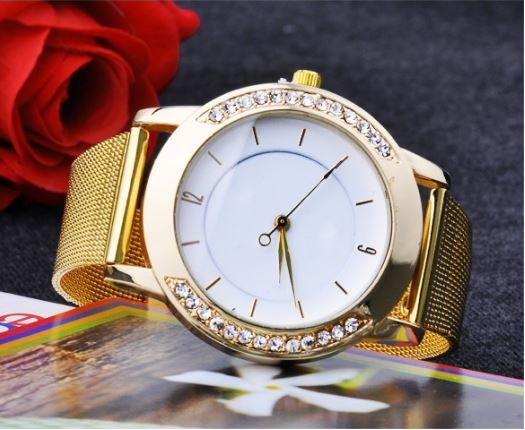 Classic Watch Women's Wrist Quartz Dress Watch Gold Color