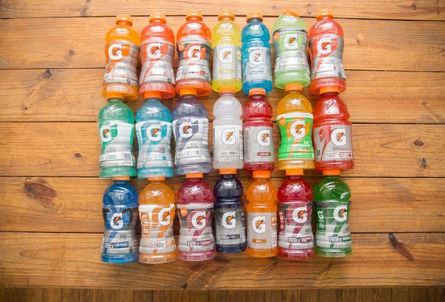 Every Flavor Of Gatorade Ranked By An Extremely Hungover Human