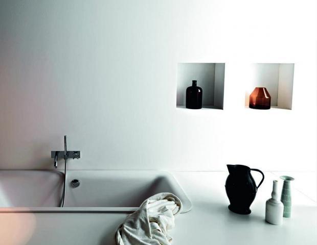 Nischen nutzen - das spart Platz Holzhaus Pinterest Nische - nischen im badezimmer