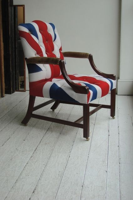 Union Jack + Armchair
