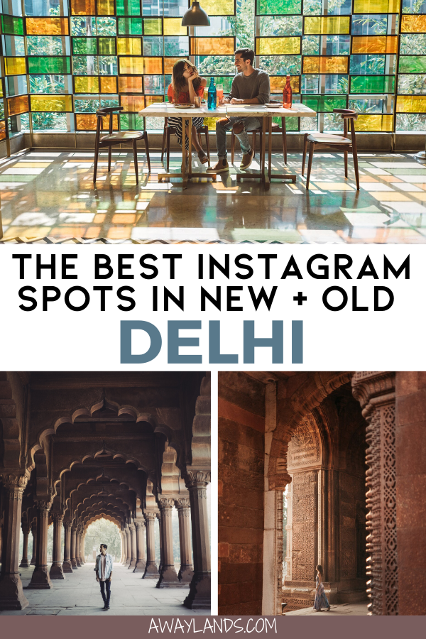 Click here for a guide to 16 of the most Instagrammalbe places in Delhi including Old Delhi and New Delhi. #delhi #india #instagrammable #travel | things to do in New Delhi India | things to do in Old Delhi India | Delhi Instagrammable places | Old Delhi photography | New Delhi photography | New Delhi travel | New Delhi India travel | New Delhi India fashion | New Delhi India photography | what to wear in New Delhi | New Delhi Instagram photo spots | Delhi India travel tips | Delhi India travel