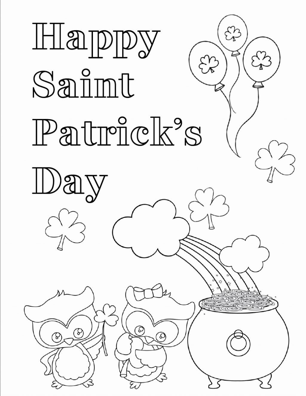 11+ Printable st patricks day coloring pages pdf ideas in 2021