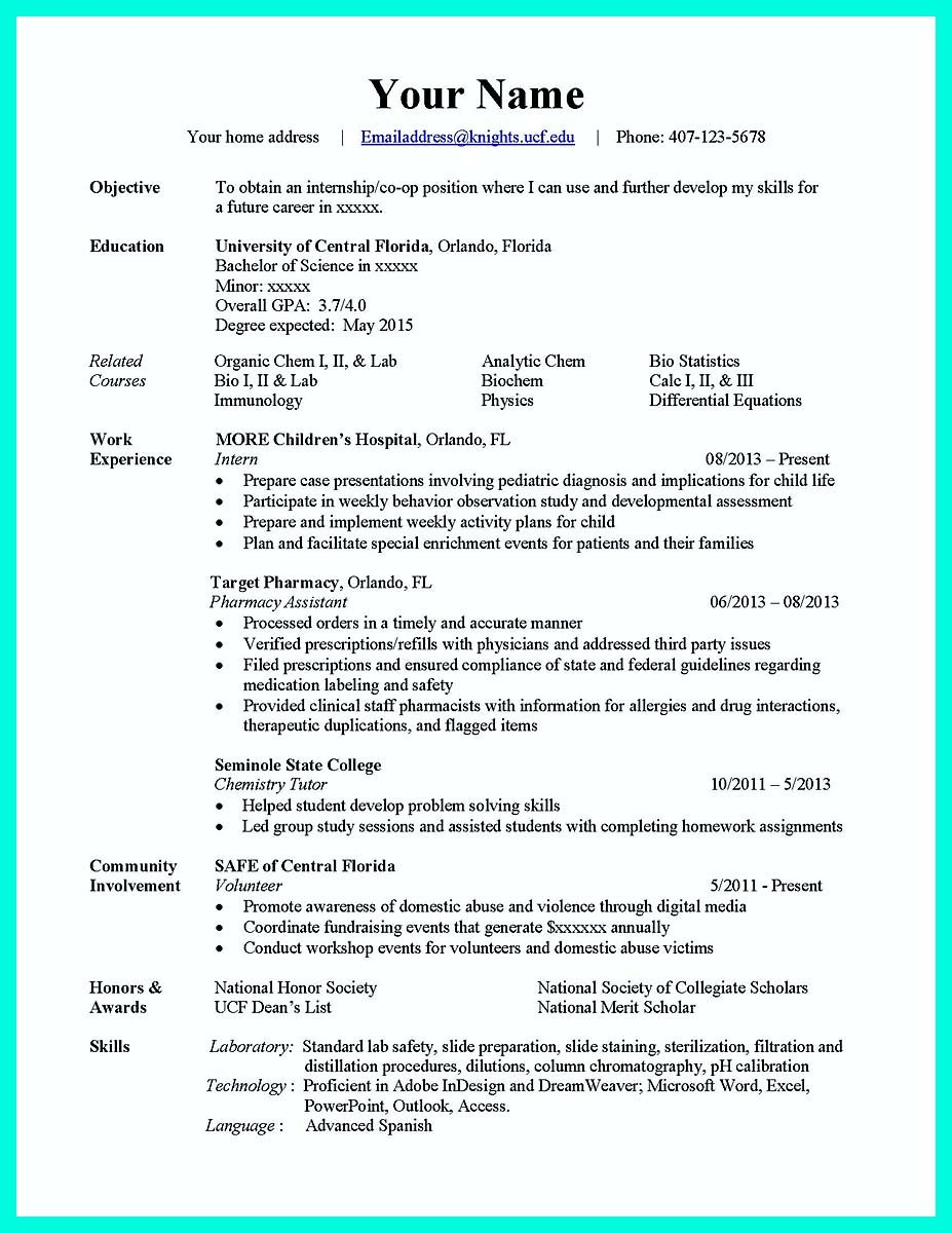 24+ Computer science major resume example Resume Examples