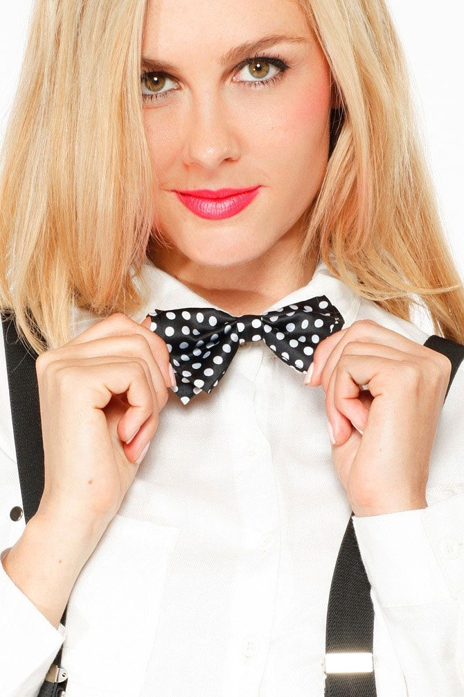 Polka Dot Bow Tie - What's New
