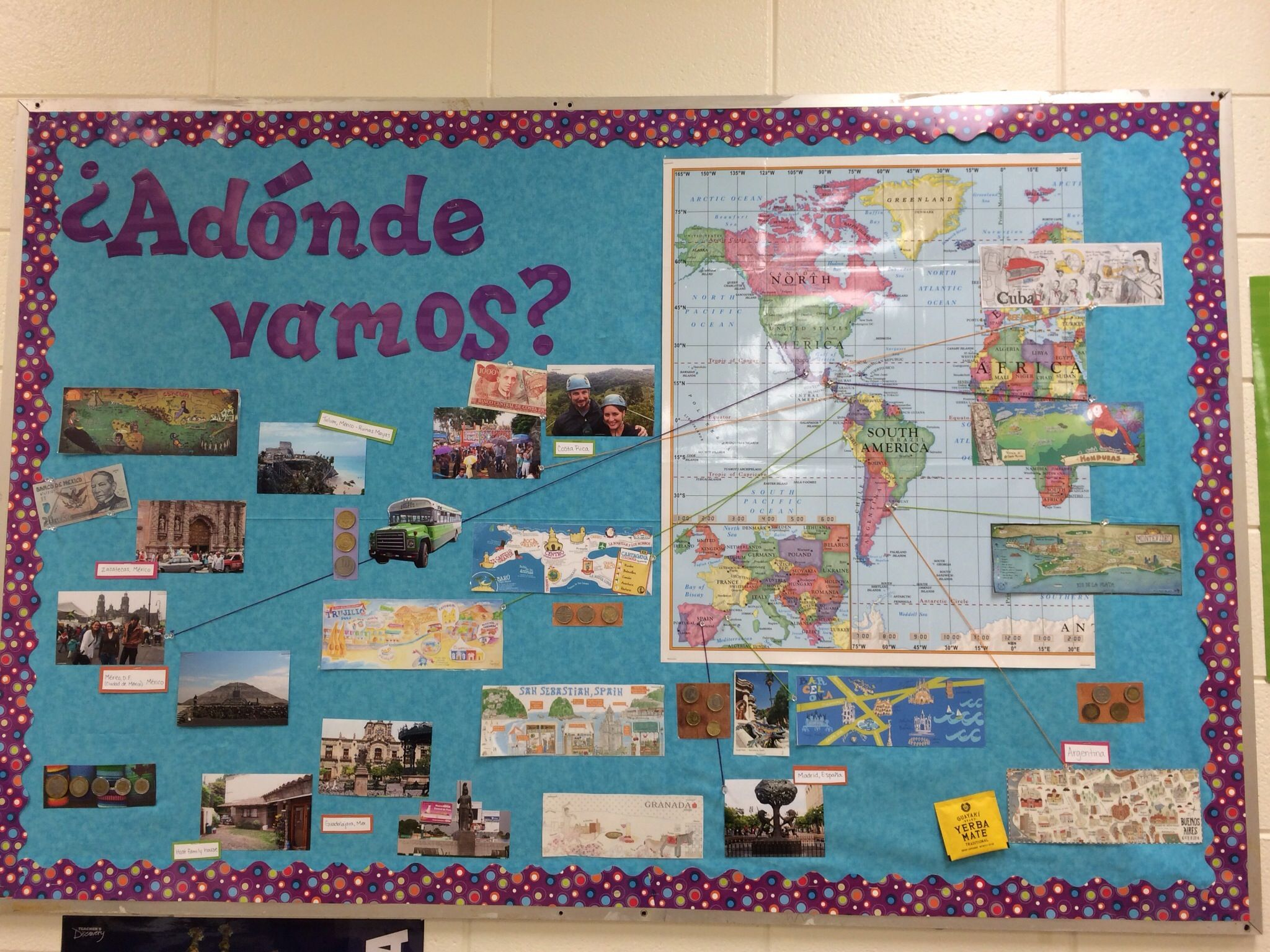 Most Cultural Spaces World Language Classrooms World
