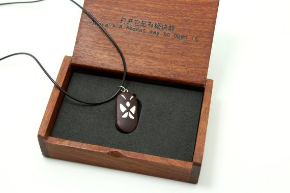 The illusionist locket made of natural wood with sterling silver the illusionist locket made of natural wood with sterling aloadofball Image collections