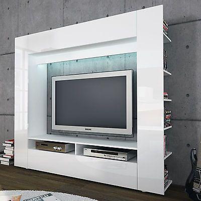 Ebay Angebot Medienwand Olli Tv Wohnwand Anbauwand Mediacenter Mit