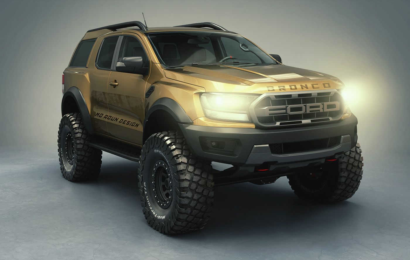 Bronco Raptor 2021 on Behance in 2020 Ford bronco, New