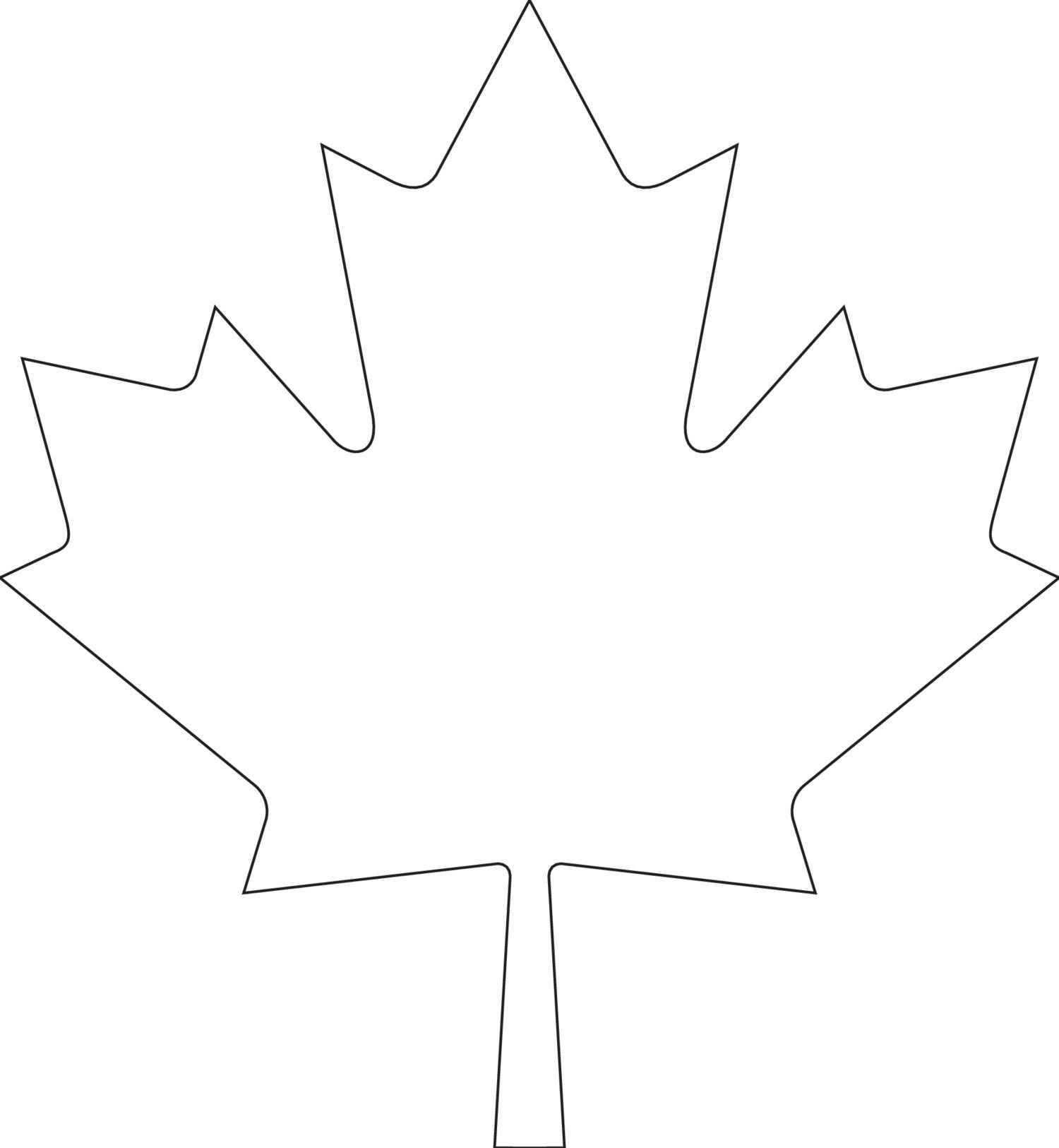 View And Download Canada Day Maple Leaf TemplatePdf On Docdroid