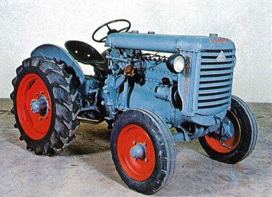 History - Lamborghini Trattori | Antique tractors