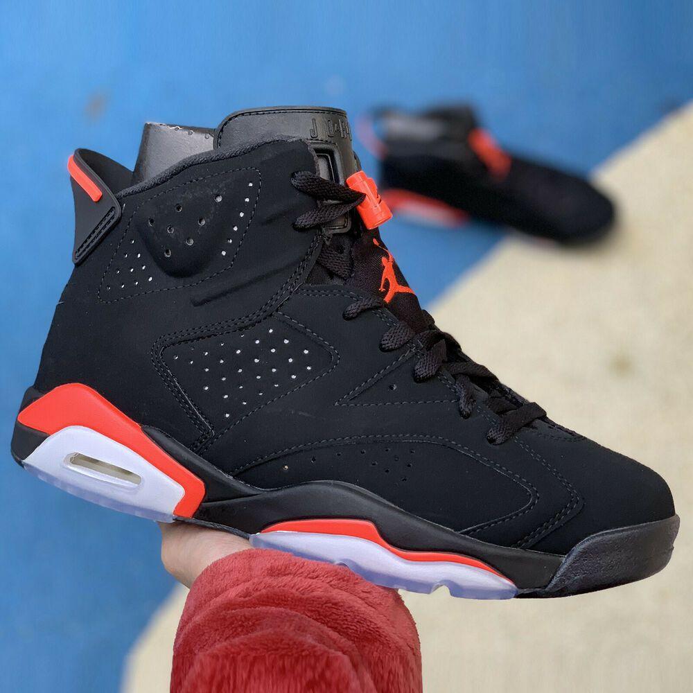 Nike Air Jordan 6 Retro Infrared Black Og 2019 Vi Preorder Men Women Kidgs Pick 1 Nike Athletic Air Jordans Retro Air Jordans Nike Air Jordan 6