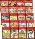 THE MAGIC SCHOOL BUS READER COMPLETE 20-BOOK SET (Scholastic Readers, Level 2) (The Magic School Bus . . . The Wild Leaf Ride, Sleeps for the Winter, Lost in the Snow, Flies from the Nest, Takes a Moonwalk, Arctic Adventure, Has a Heart, Gets Crabby, Flies with the Dinosaurs, and the Missing Tooth, Rides the Wind, in the Bat Cave, Gets Recycled, Gets Caught in a Web, and the Shark Adventure, Fights Germs, Weathers the Storm, Blasts into Space, at the First Thanksgiving, and Builds the Statue…