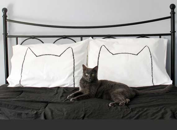 13 Stylish Cat Pillow Cases Purrfect for Catnaps