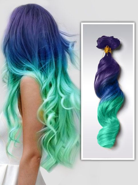 Ombre extensions de cheveux color s remy clips c009 pastel goth pinterest extensions de - Couleur ombre hair ...