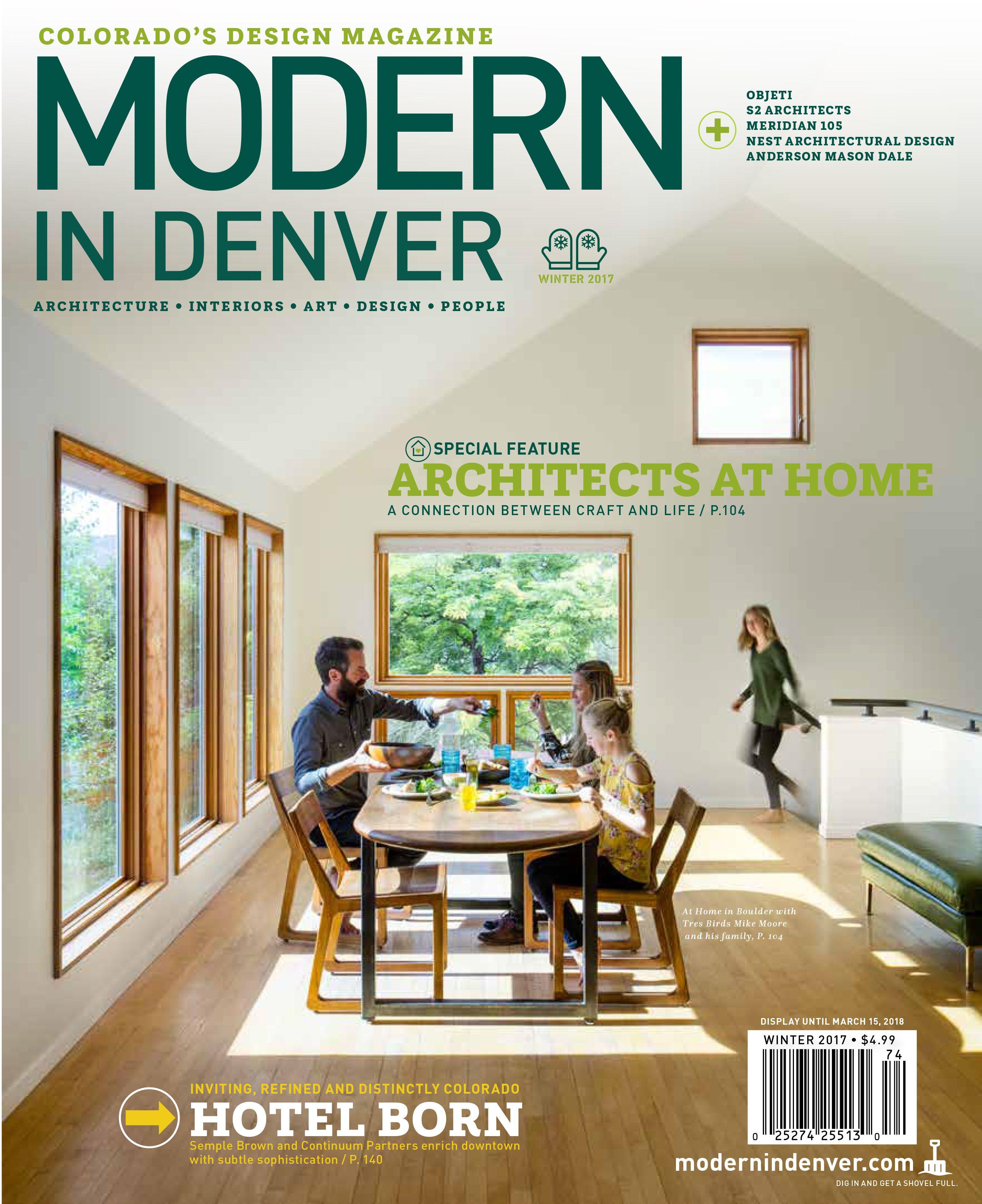 Modern In Denver 39A in 2020 Colorado design, Magazine
