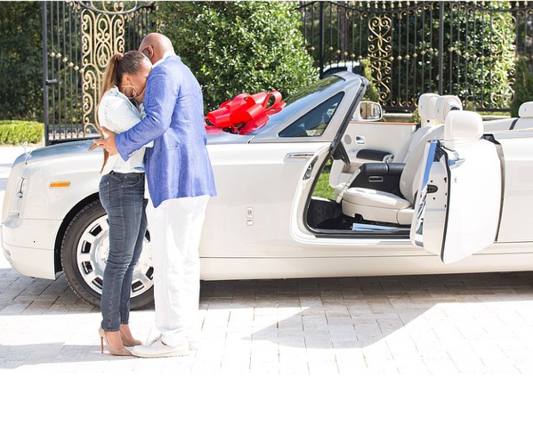 Steve Harvey Gives Wife Expensive Gift