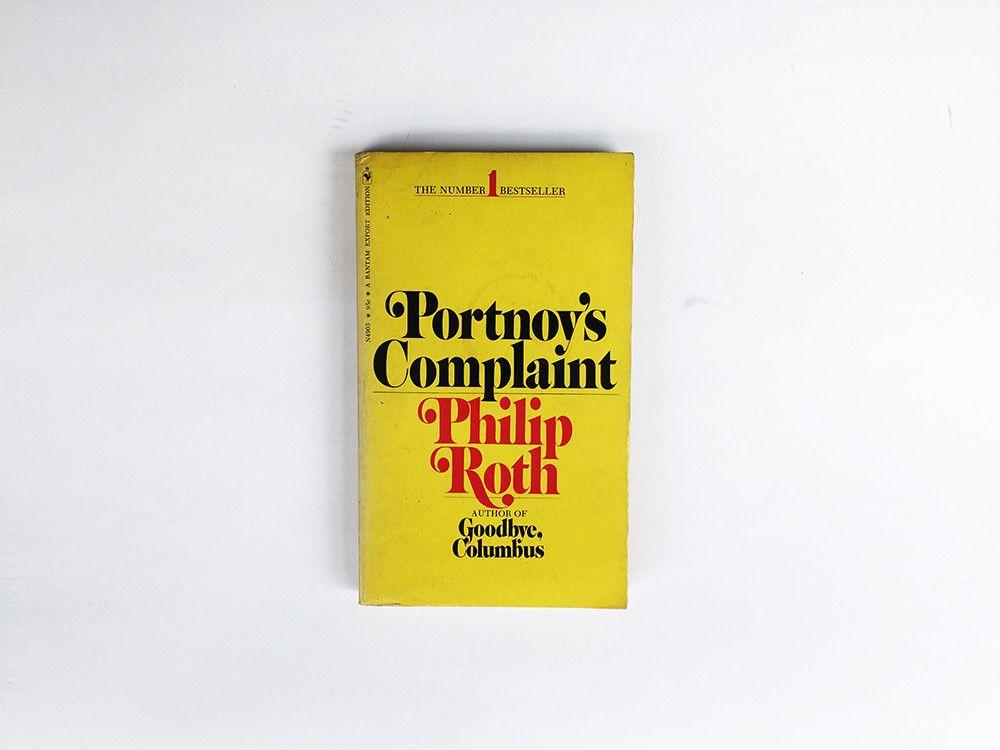 Portnoy S Complaint Complaints Philip Roth Book Cover