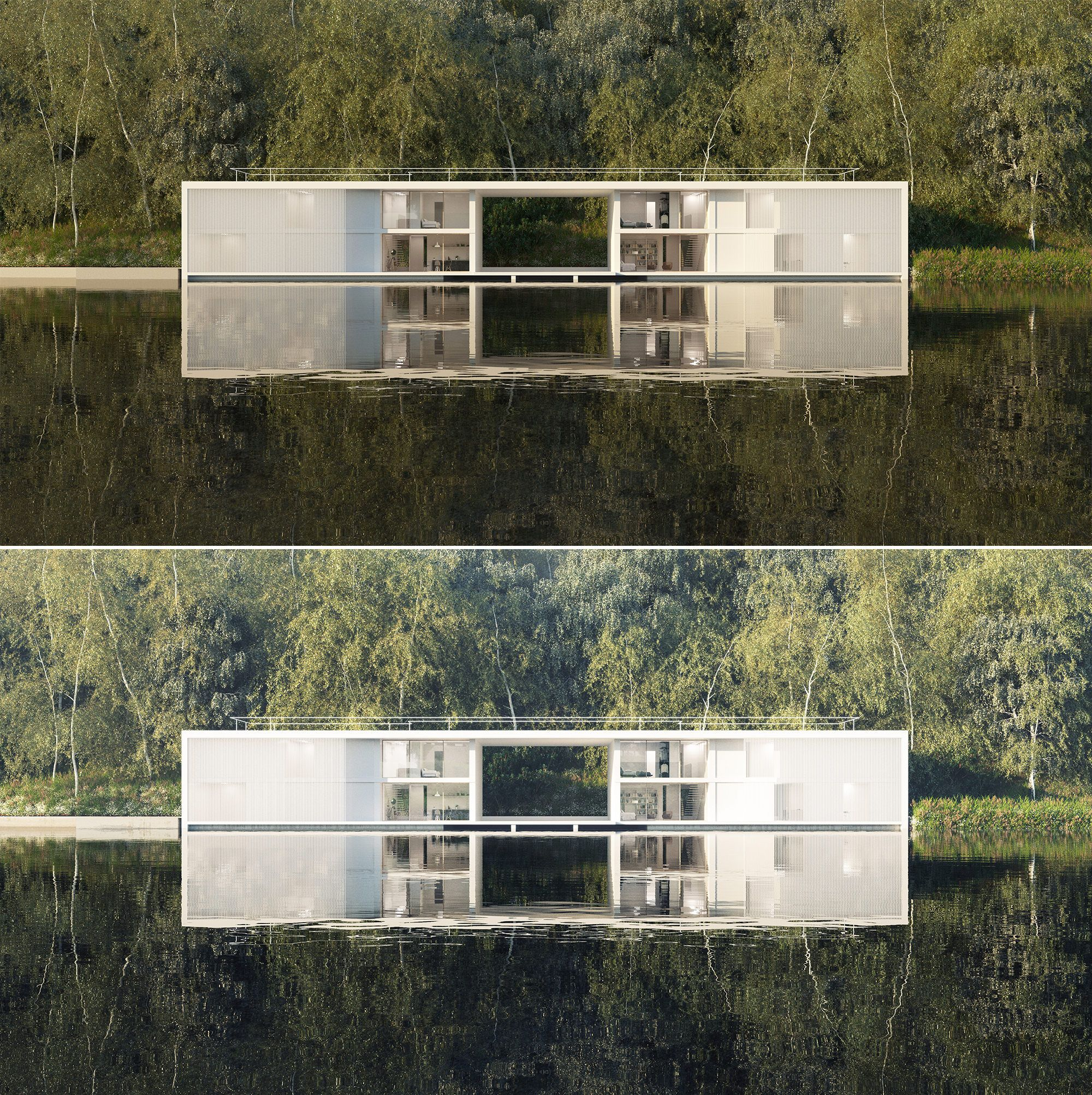 Giona Andreani Showcased His First Attempt With Corona Renderer Two Weeks Ago Which Also Awar 3d Architectural Visualization Concept Architecture Architecture