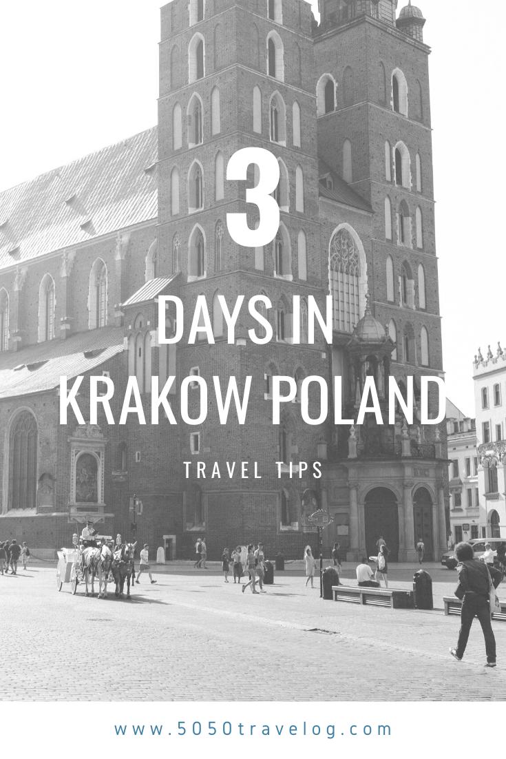 3 Days In Krakow In 2020 Krakow Travel Through Europe Krakow Poland