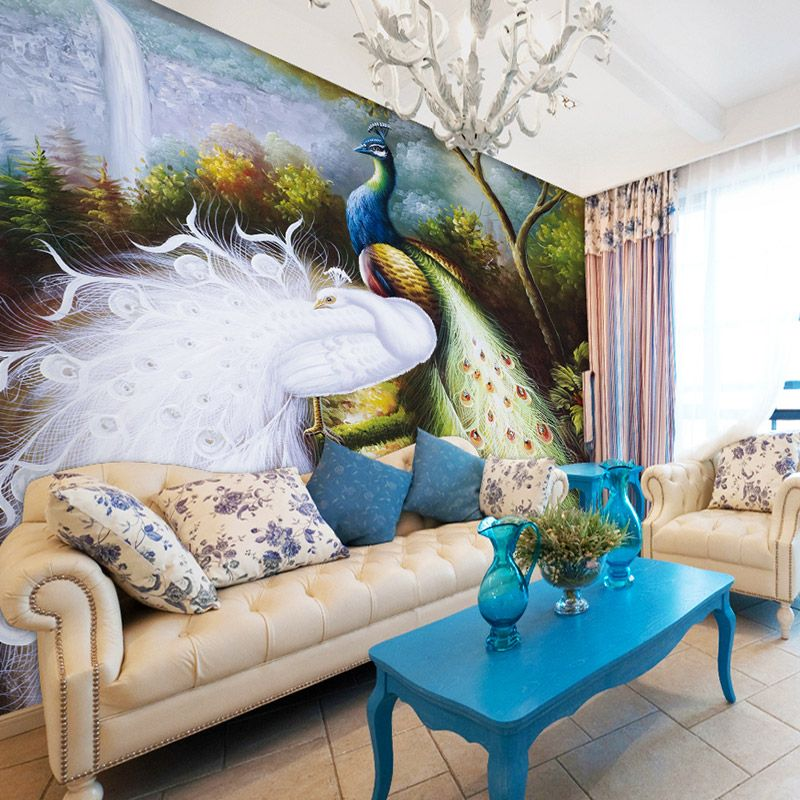 Compare Prices on Peacock Wall Mural Online ShoppingBuy Low
