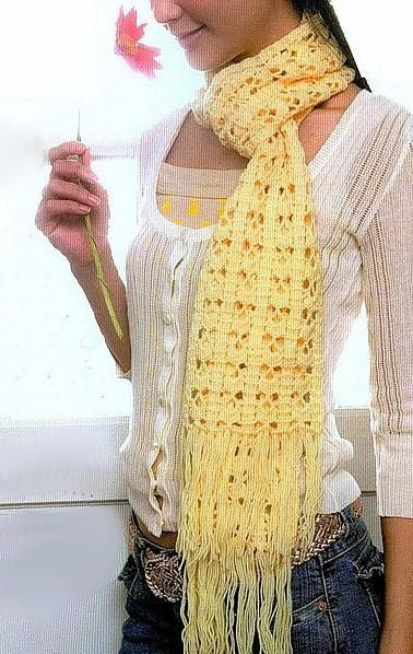 BUFANDAS A GANCHILLO: Cinco patrones gratis | Pinterest | Crochet ...