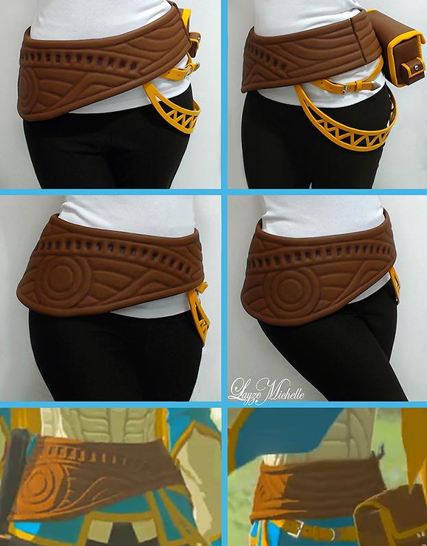 PROGRESS: Zelda's Belt from Breath of the Wild by LayzeMichelle on DeviantArt