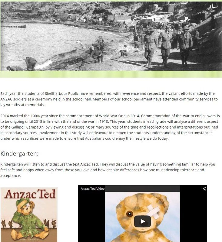 Anzac Unit Harley Walmsley Has Created This Stage 1 Unit Thanks For Sharing Harley Anzac Day Anzac The Unit