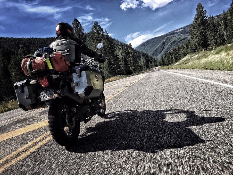 Colorado to Canada 2015 Adventure, Motorcycle, Bike