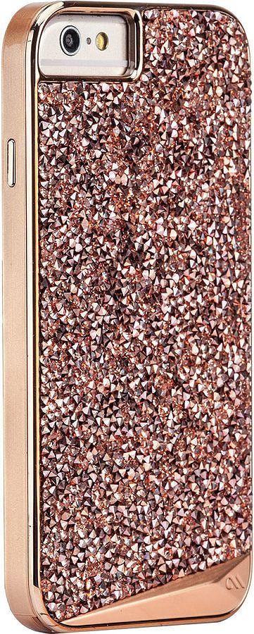 Rose Gold Brilliance iPhone 6 Plus Case ($80)