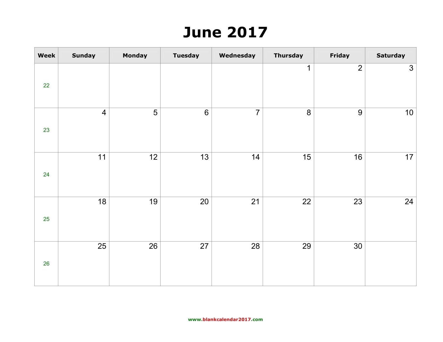 Free June Printable Calendar With Holidays With