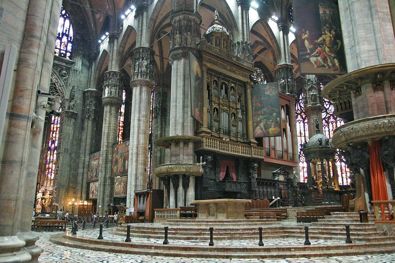 Milan Cathedral - Interior | Gothic Cathedrals | Pinterest ...
