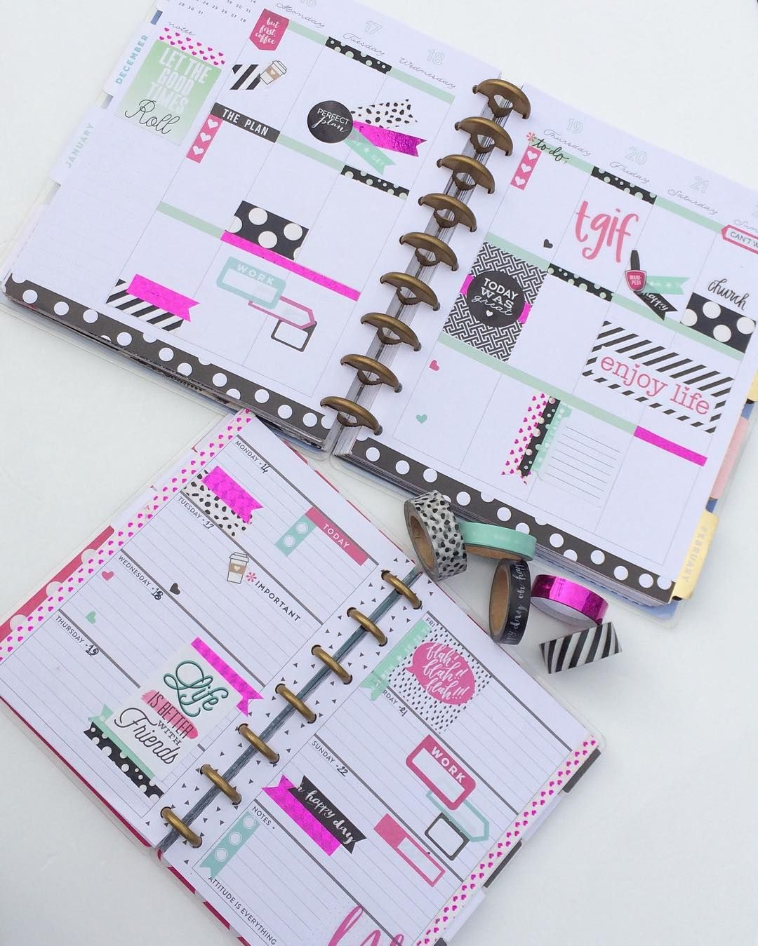 Pin by Michelle Vosper on planning | Happy planner, Mini