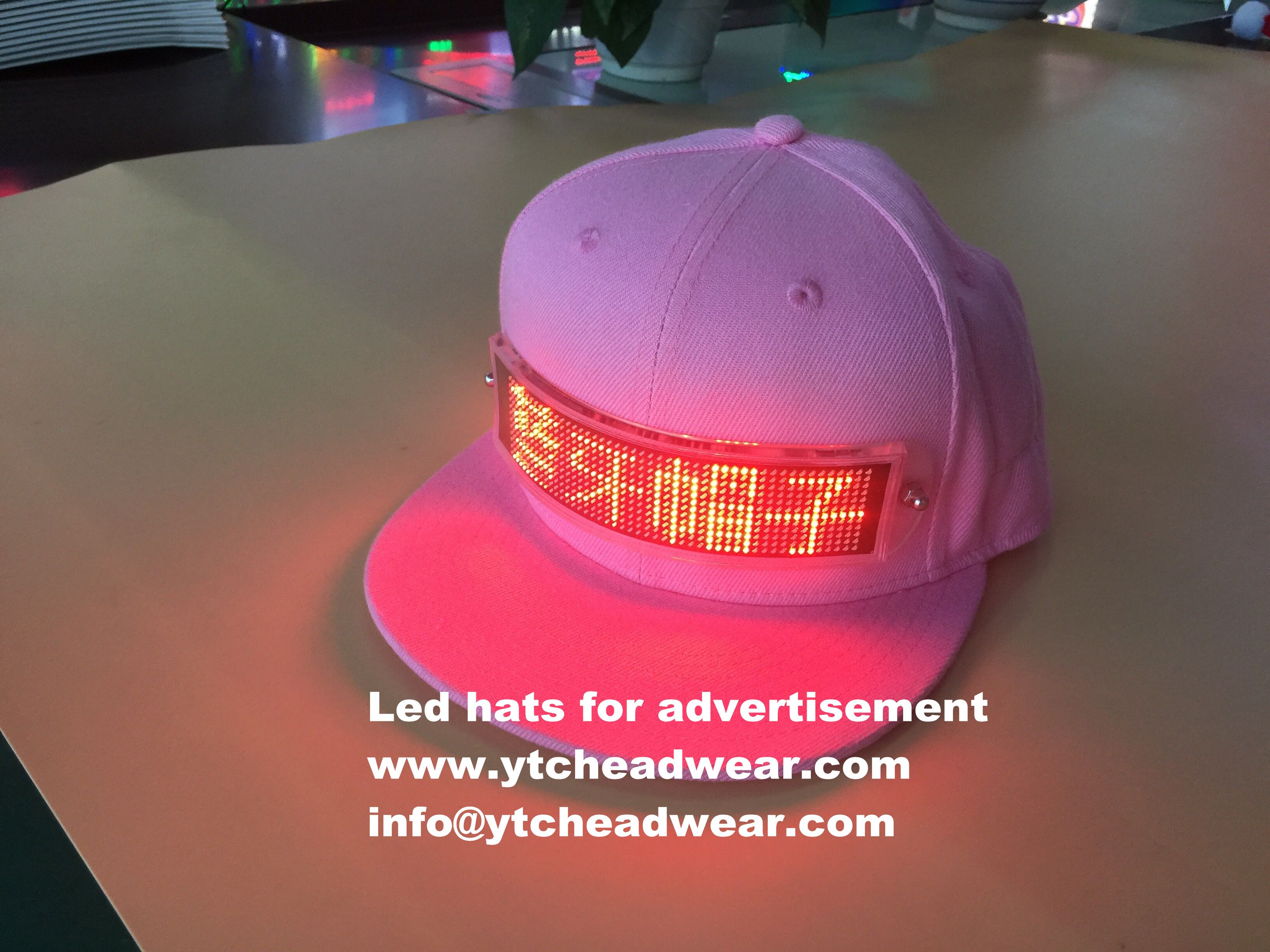 This Is A New Style In 2018 And Special Advertisement Led Hats You Can Display Your Advertisement Directly Yo Advertising And Promotion Led Hat Tee Shirts