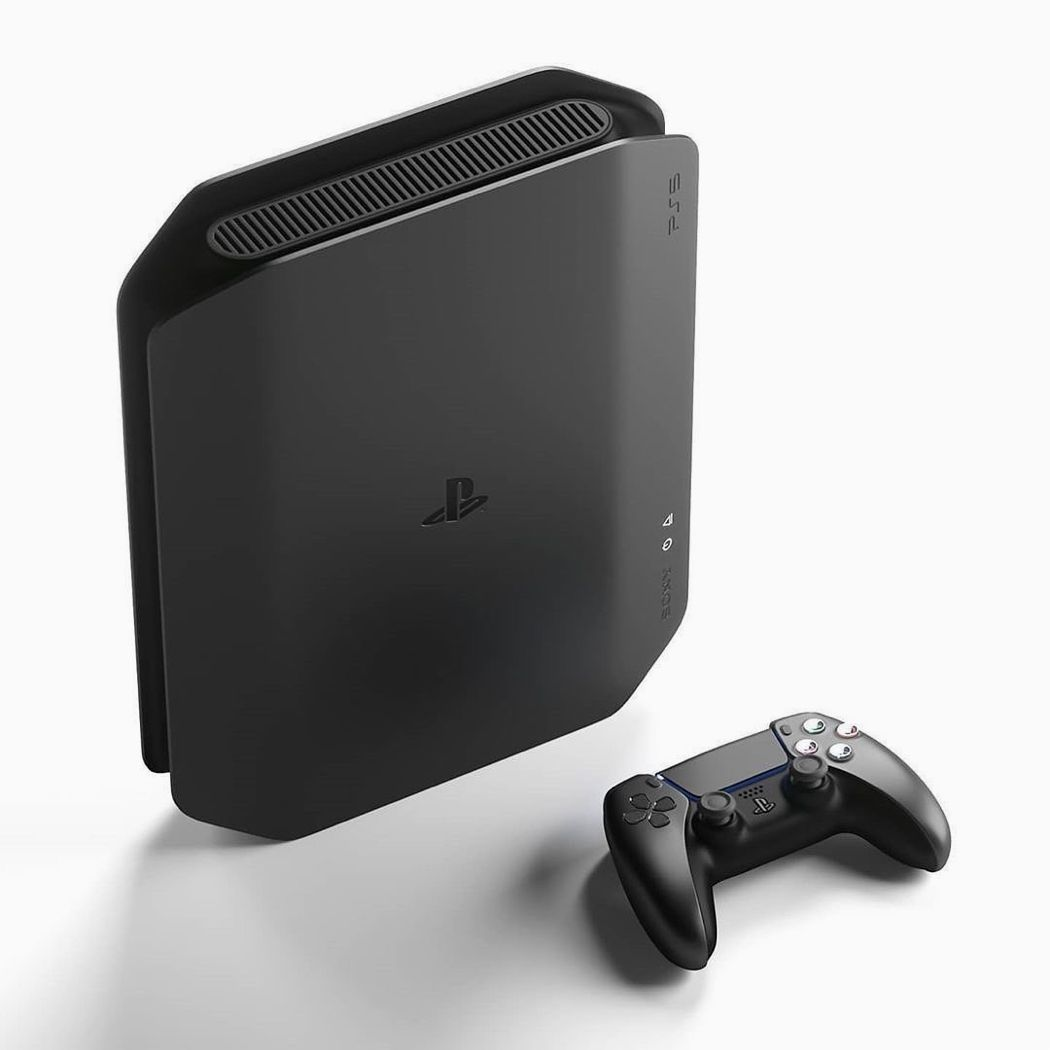 Ps5 Gets An All Black Redesign That Pays Homage To The Original Playstation Aesthetics In 2020 Redesign Design Technology Trends