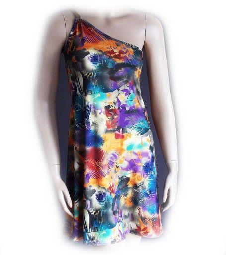 Boohoo Sliczna Sukienka Mini Na Lato Plaza 34 36 S 6920995966 Oficjalne Archiwum Allegro Dresses Moda Boho Fashion