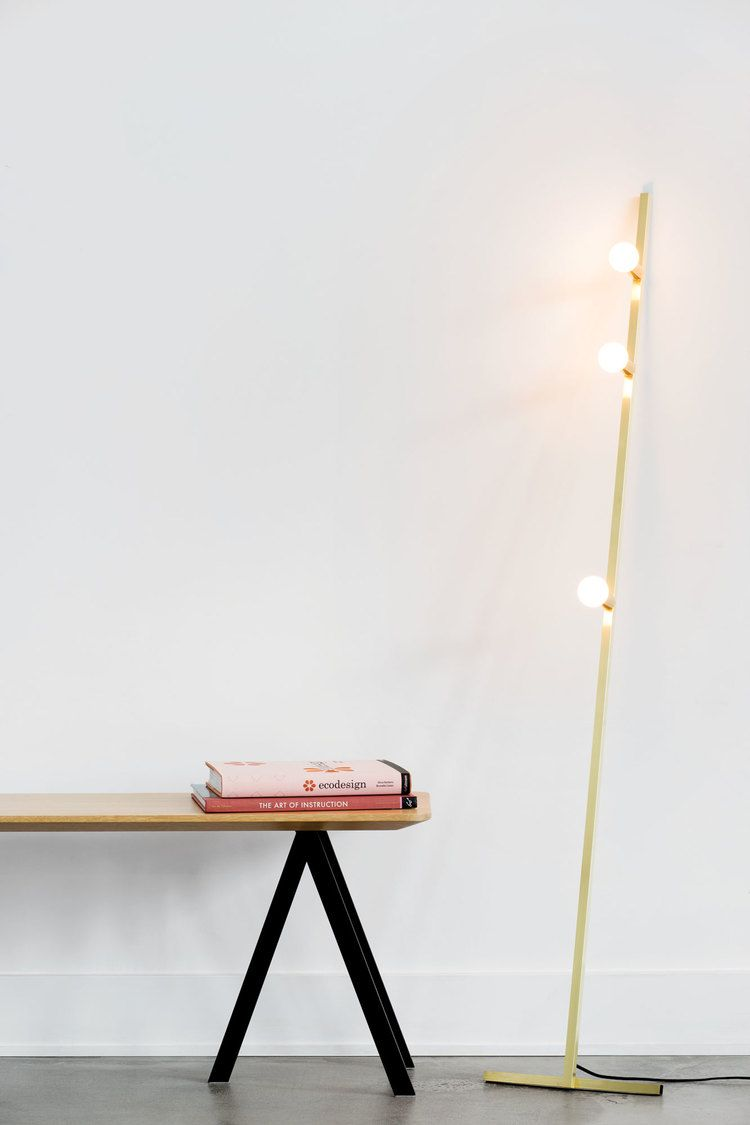 Dot Line Floor Lamp Is Made By Lambert Fils In Canada Their Entire Collection Of Mid Century Modern Lighting Online