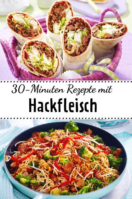Top 5: Schnelle Rezepte mit Hackfleisch