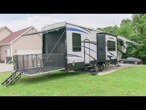 65 2016 Keystone Carbon 357 Toy Hauler Fifth Wheel Walk Through Tutorial Video Youtube Toy Hauler Louisville Ky Louisville Kentucky