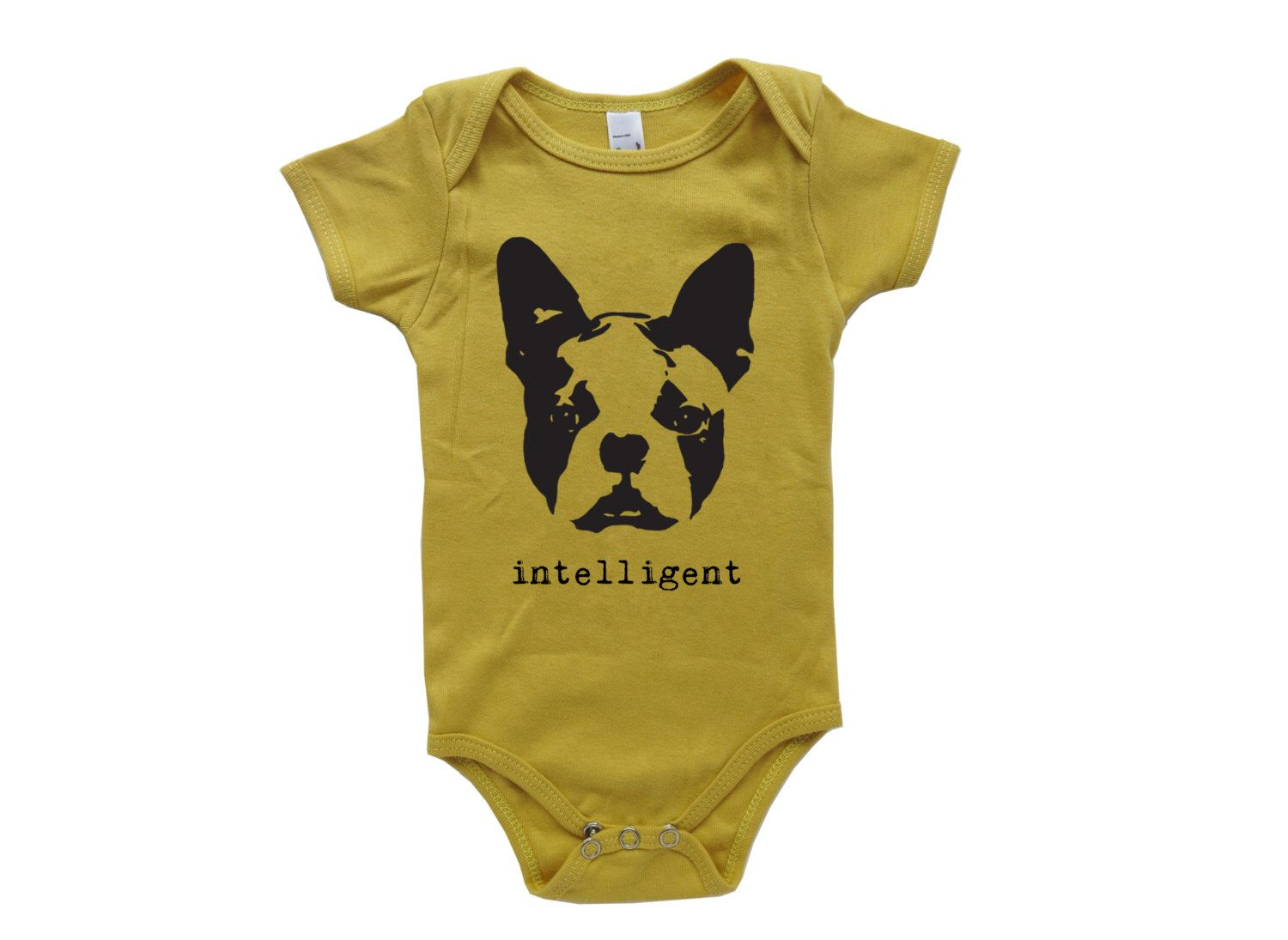 Boston Terrier Organic Baby Onesie, Organic Newborn Shirt, Organic Baby Clothes, Toddler Boy Clothes, Girl Baby Shower, Hipster Dog Mom Gift by MONOFACES on Etsy https://www.etsy.com/listing/232261548/boston-terrier-organic-baby-onesie