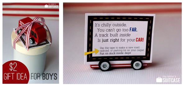Super cute idea-gift idea for a little boy Christmas Pinterest