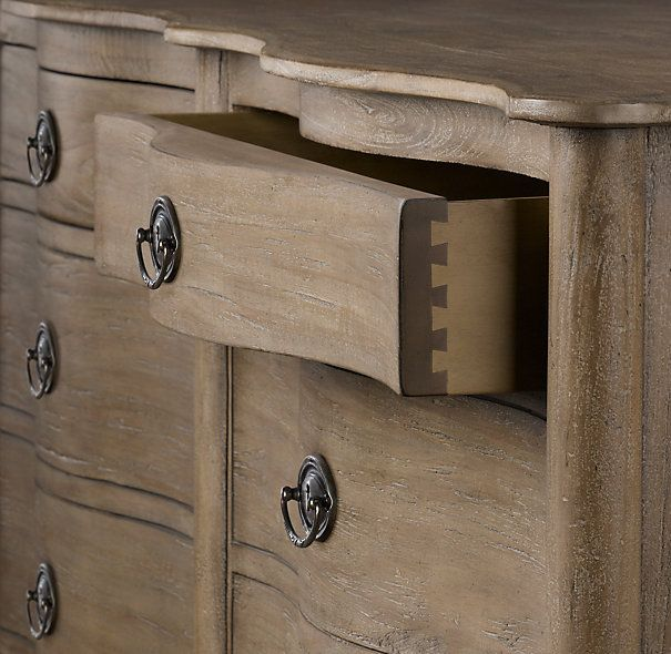 Restoration Hardware Empire Rosette: Restoration Hardware Empire Rosette 8-Drawer Dresser