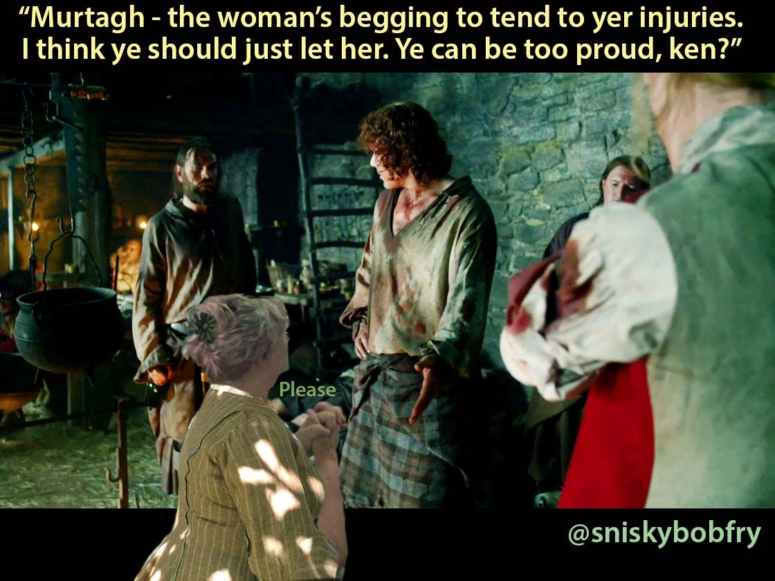 . . . AND I can wash stains out of shirts too! #SeasonTwo #Outlander #IJustWantToHelp https://t.co/HT6UC5av6R